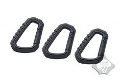 Карабин FMA Type D quick hook big, Black