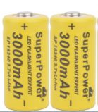 Аккумулятор CR123A Battery Rechargeable 3.7V 3000mAh