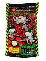 Шары ANGRY BBs 0,25 1кг. White Tracer Green