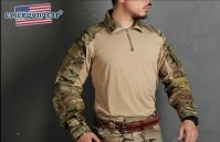 Тактическая рубашка EmersonGear blue label Upgraded version G3 Combat Shirt Muticam-XL