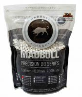 Шары Mad Bull 0,28 6mm BBs (4000) White
